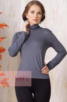 Блуза ВК-19 Фемина (Серо-лиловый)
