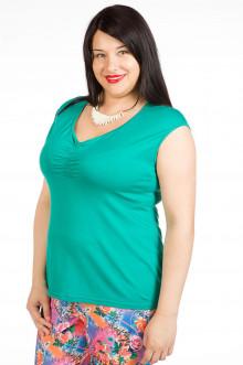Блузка 343 Luxury Plus (Зеленый)