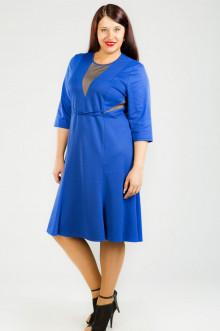 Платье 426 Luxury Plus (Синий ирис)