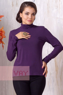 Блуза ВК-19 Фемина (Светлый баклажан)