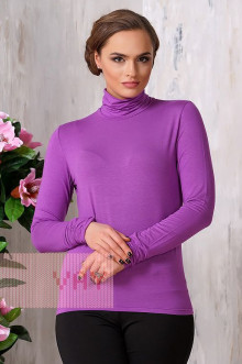 Блуза ВК-19 Фемина (Темная сирень)