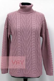 Свитер женский 182-4793 Фемина (Розовая дымка)