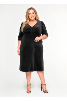 """Платье """"ЛаТэ"""" 1619601 (Черный)"""