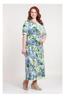 """Платье """"Диссона"""" Саломея (Голубые цветы)"""