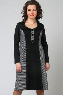 """Платье """"СКС"""" 3761 (Черный/белый)"""