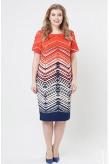 """Платье """"Лина"""" 5276 (Красный)"""