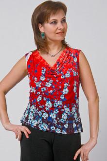 "Блуза ""СКС"" 055 (Красный)"