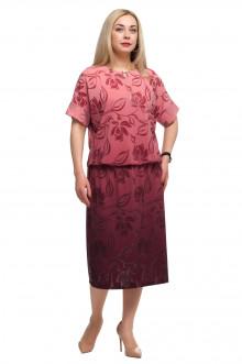 """Платье """"Олси"""" 1705039/3 ОЛСИ (Красный)"""