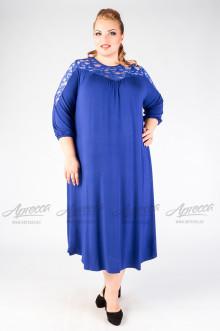 """Платье """"Артесса"""" PP07139BLU08 (Синий)"""