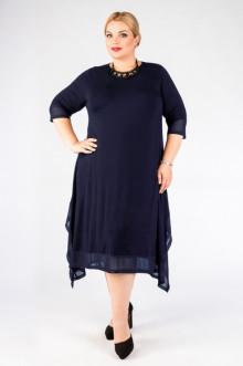 """Платье """"Артесса"""" PP21103DBL05 (Темно-синий)"""