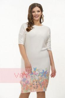 Платье женское 181-2330 Фемина (Молоко)
