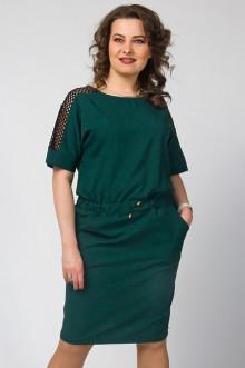 """Платье """"СКС"""" 2777/5 (Зеленый/черный)"""