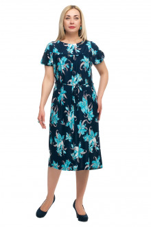 "Платье ""Олси"" 1705040/4V ОЛСИ (Голубой)"