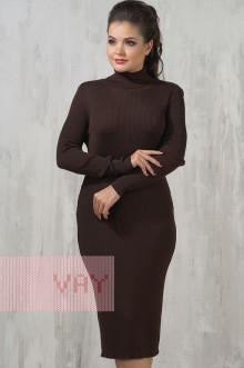 Платье женское 2236 Фемина (Шоколад)