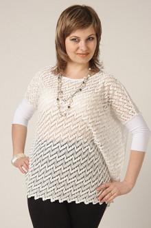 """Блуза """"СКС"""" 4265 (Белый)"""