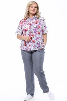 Блуза 0035-055 Грация Стиля (Фиолетовый)