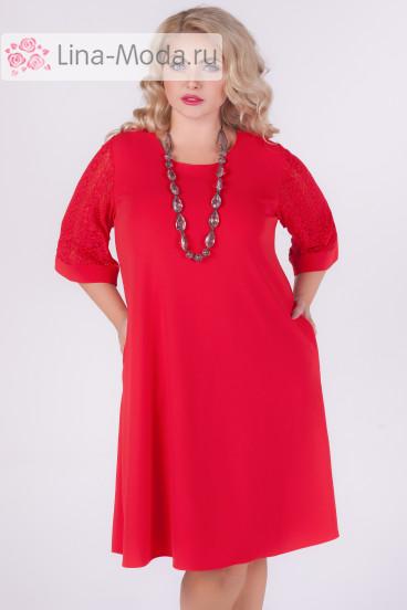 """Платье """"Барселона"""" Sparada (Красный)"""
